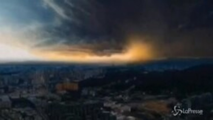 Il tifone Lekima colpisce la Cina: almeno 13 morti in una frana