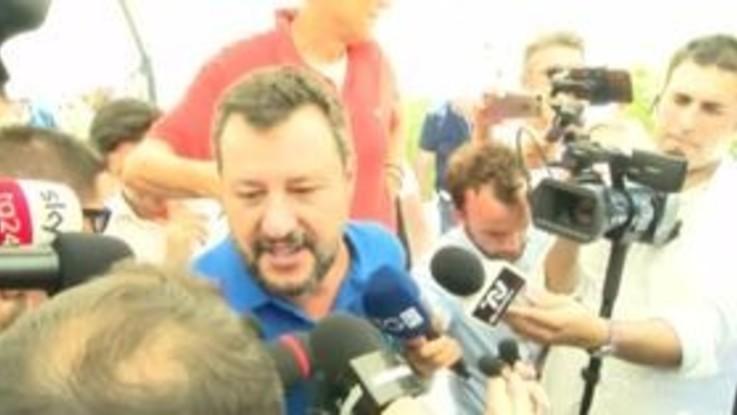 """Salvini: """"Ilva e Val d'Agri? Tuteleremo l'ambiente ma anche i posto di lavoro"""""""