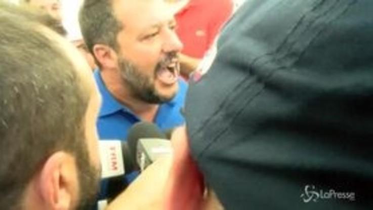 """Crisi governo, Salvini: """"Mi interessa che gli italiani sappiano quando andare a votare"""""""