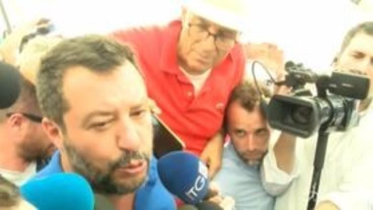 """Salvini: """"Lavoriamo a un governo che duri 10 anni"""""""