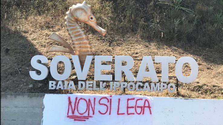 Salvini in Calabria, Soverato prepara la contestazione