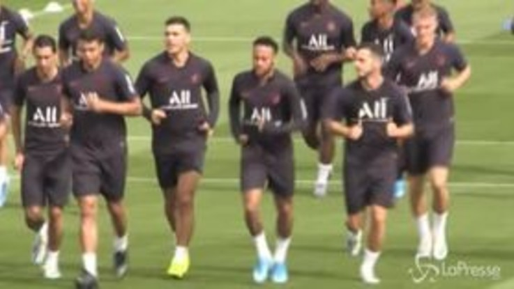 Psg: Neymar termina in anticipo l'allenamento, vicina la cessione