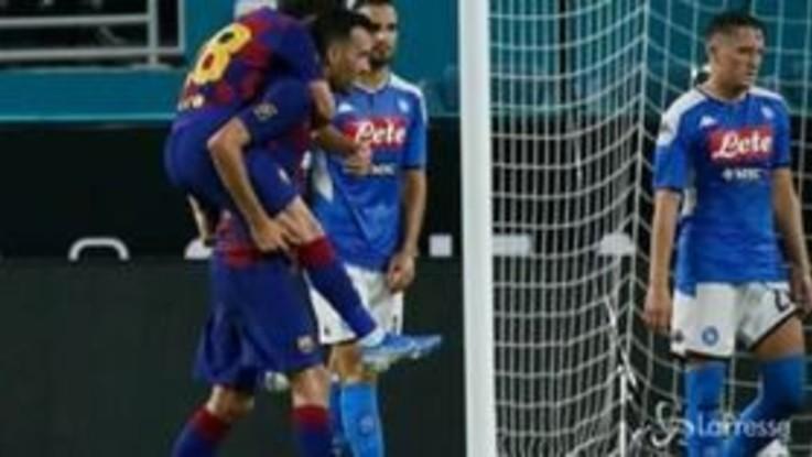 Amichevoli: sorride l'Inter, Juve e Napoli ko