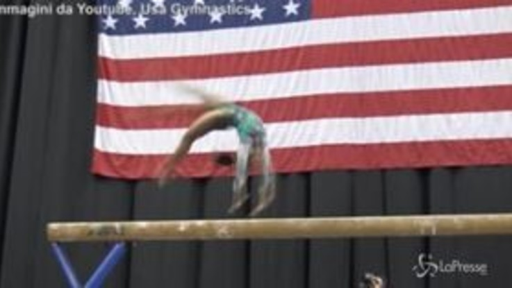 Il salto impossibile di Simone Biles