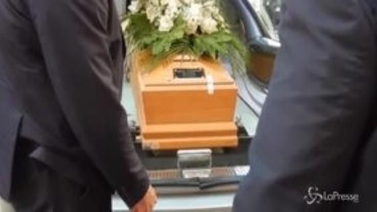A Roma i funerali di Saccomanni