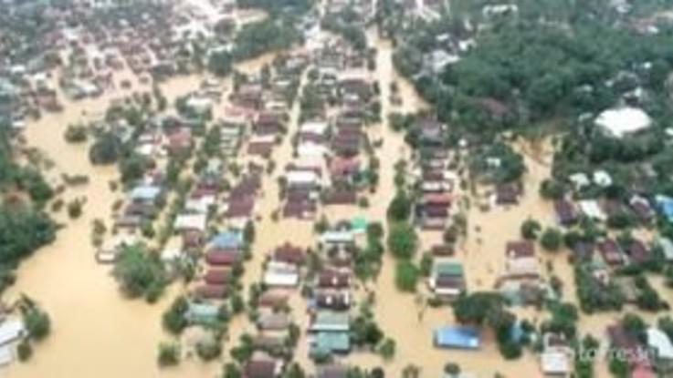 Piogge monsoniche in Myanmar, sale il bilancio delle vittime
