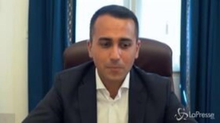 """Crisi di Governo, Di Maio: """"Nessuno vuole sedersi al tavolo con Renzi"""""""
