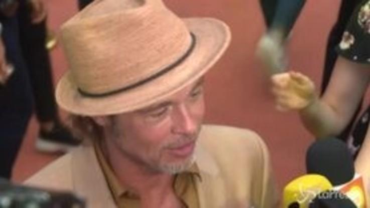 Brad Pitt in Messico per presentare il suo ultimo film