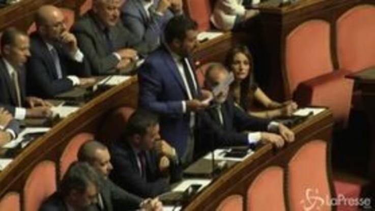 """Salvini: """"Ok al taglio dei parlamentari la prossima settimana e poi il voto"""""""