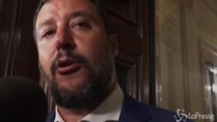 """Crisi governo, Salvini: """"Se M5s farà inciucio con Renzi lo spiegherà al Paese"""""""