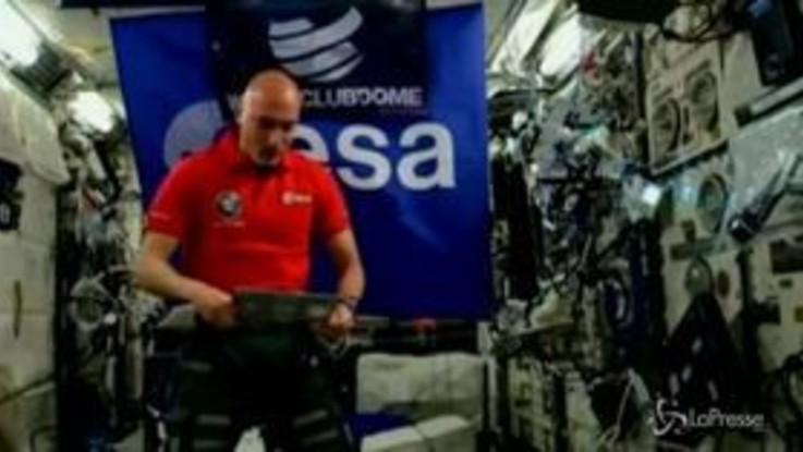 Luca Parmitano, dj dallo spazio: il suo live tra le stelle è senza precedenti