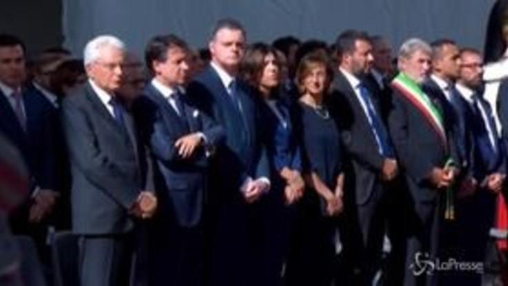 Ponte Morandi, la messa in ricordo delle vittime
