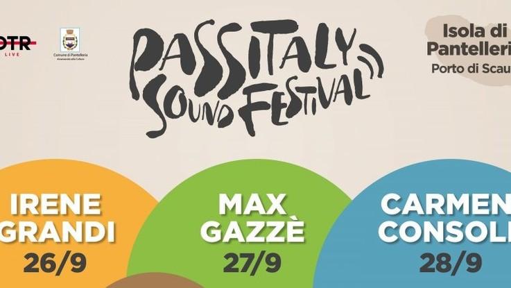 Consoli, Gazzè e Grandi a Pantelleria per 'Passitaly sound festival'