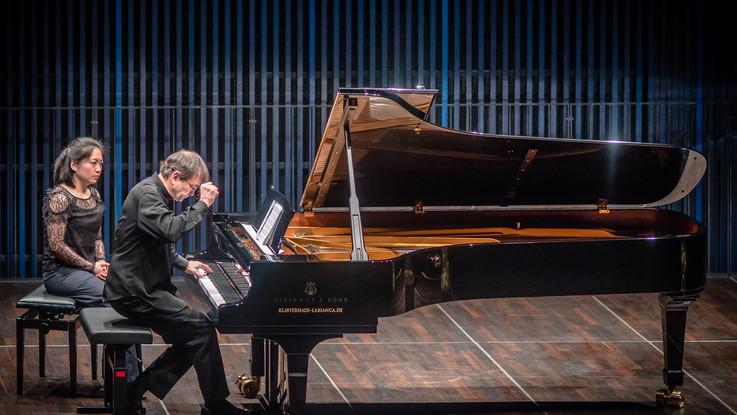 Aimard esegue l'integrale del Catalogue d'Oiseaux al Ravello Festival