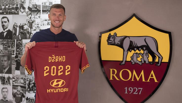 Calciomercato, Dzeko rinnova alla Roma. Inter punta Vidal