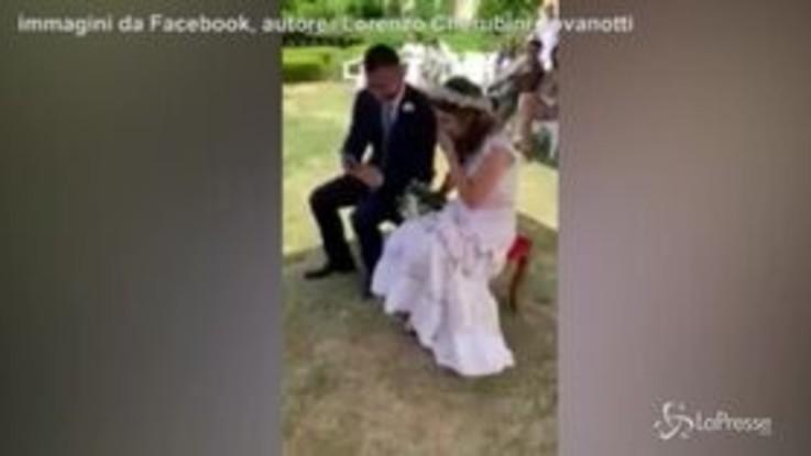 """VIRAL PRESSE - La sorpesa di Jovanotti alla coppia di sposi: il cantante dedica la canzone """"A te"""""""