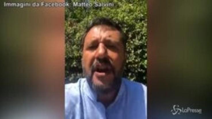 """Governo, Salvini: """"Mi sto preparando al discorso che farò in Senato"""""""