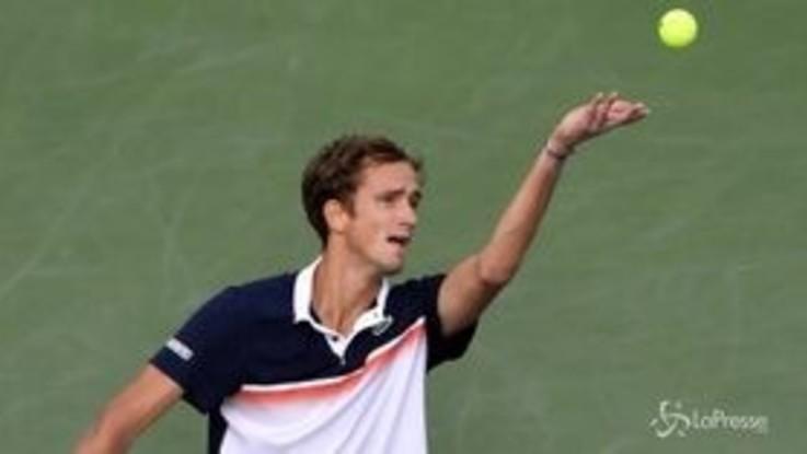 Tennis, Medvedev trionfa a Cincinnati