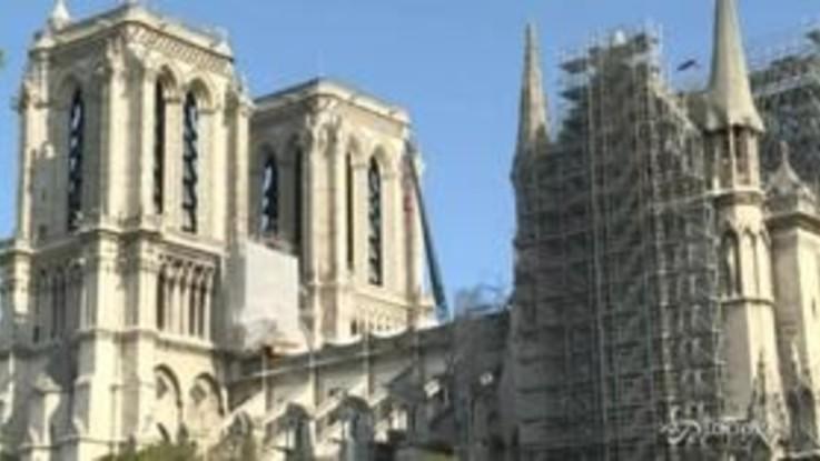 Notre-Dame, riprendono i lavori di ristrutturazione
