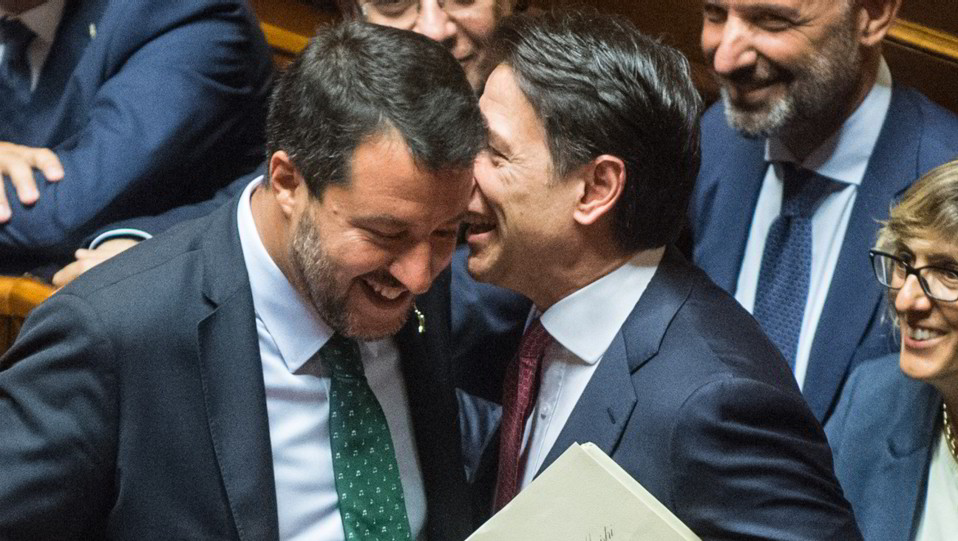 Matteo Salvini e Giuseppe Conte ©