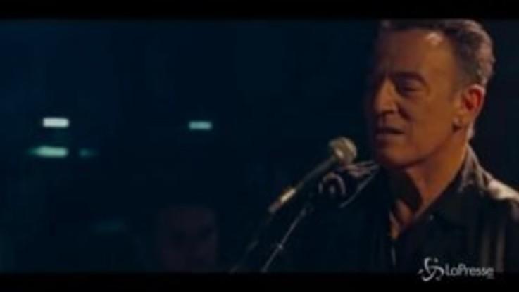 """""""Western Stars"""", il trailer del concerto-confessione diretto da Springsteen"""