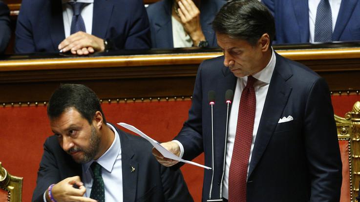 Conte picchia durissimo, Salvini va (quasi) ko ma tende la mano