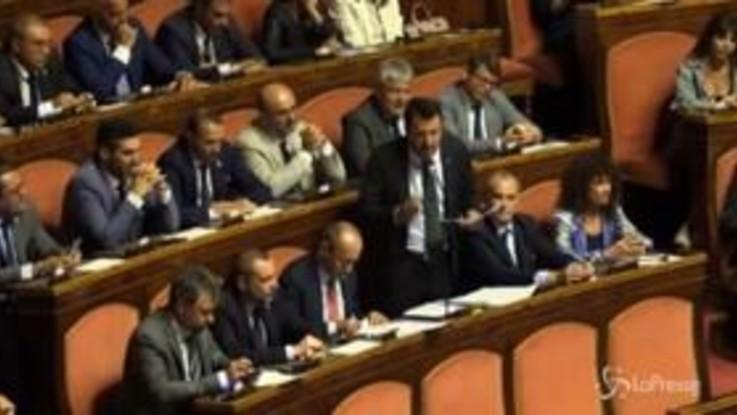 """Crisi governo, Salvini: """"Invocherò cuore immacolato Maria finché campo"""""""