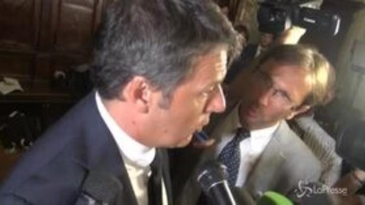 """Crisi governo, Renzi: """"Irresponsabile chi manda a votare il Paese con aumento Iva"""""""