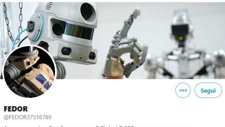 Spazio, Russia ha lanciato verso Iss 'Fiodor', suo primo robot umanoide