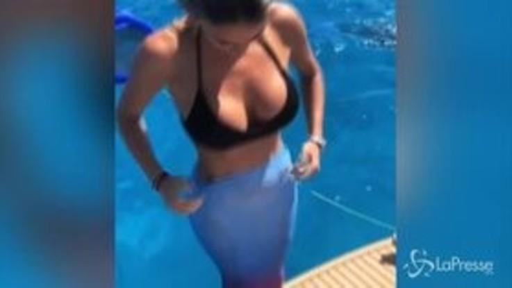 """Diletta Leotta si trasforma in """"sirena"""" e fa impazzire il web"""
