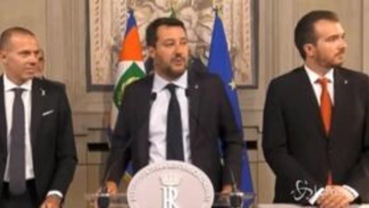 """Salvini apre ai 5 Stelle: """"Se i no diventano sì io non porto rancore"""""""
