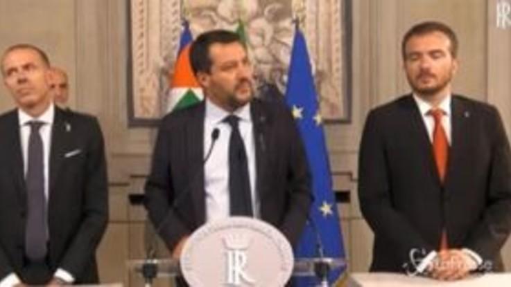 """Salvini elogia Di Maio: """"Ritenevo e ritengo che abbia lavorato bene"""""""