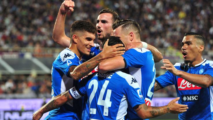 Serie A, gol e spettacolo al Franchi: Napoli supera Fiorentina 4-3