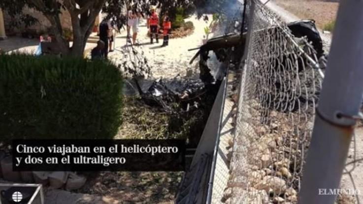 Scontro tra elicottero e ultraleggero a Maiorca: 7 morti, anche un italiano