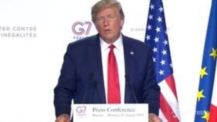 """Cnn: """"Al G7 Conte ha sostenuto Trump su ritorno Russia"""""""