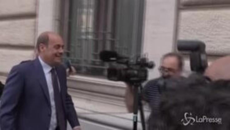"""Zingaretti: """"Conte bis? No, deve essere nuovo governo"""""""
