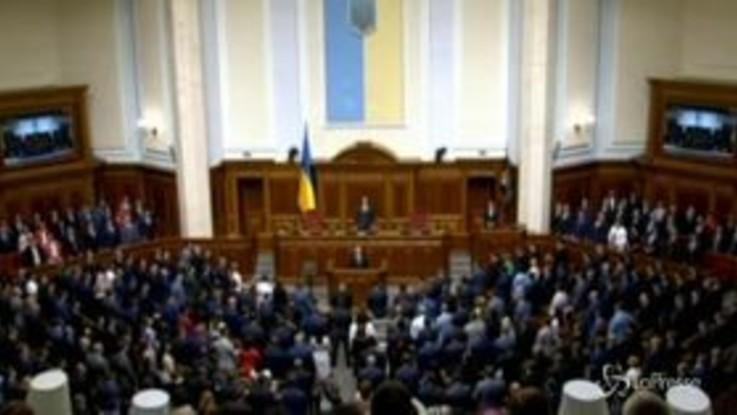 Ucraina, l'insediamento del nuovo Parlamento