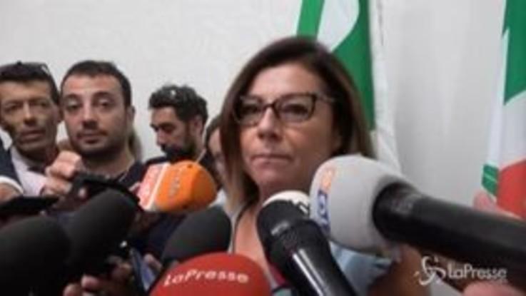 """De Micheli (Pd): """"Ancora divergenze con il Movimento"""""""