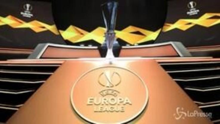 Sorteggi Europa League: sorride la Roma, girone di ferro per la Lazio