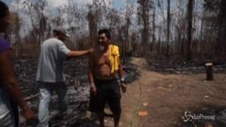 L'Amazzonia brucia: le popolazioni indigene provano a ricostruire