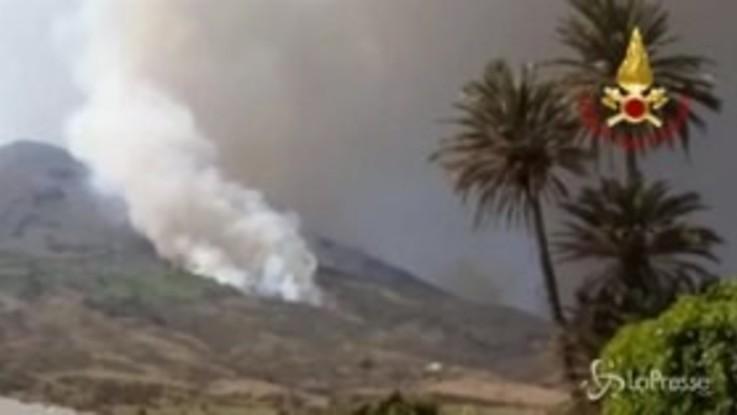 Stromboli, stop alla lava ma rimane l'emergenza