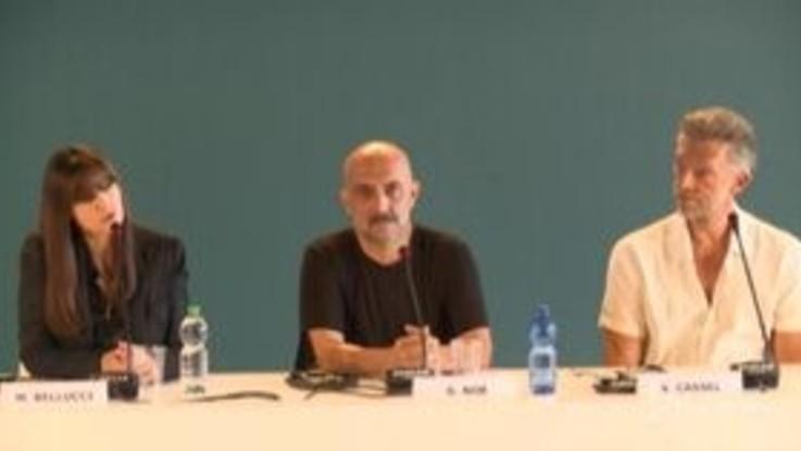 Venezia Cinema, Monica Belucci e Vincent Cassel insieme...per la stampa
