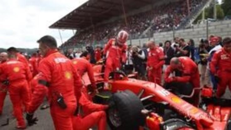 F1, in Belgio trionfa la Ferrari di Leclerc