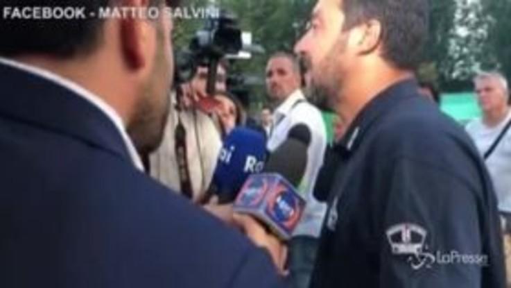 """Governo, Salvini: """"Non sapevo di avere un premier del Pd"""""""