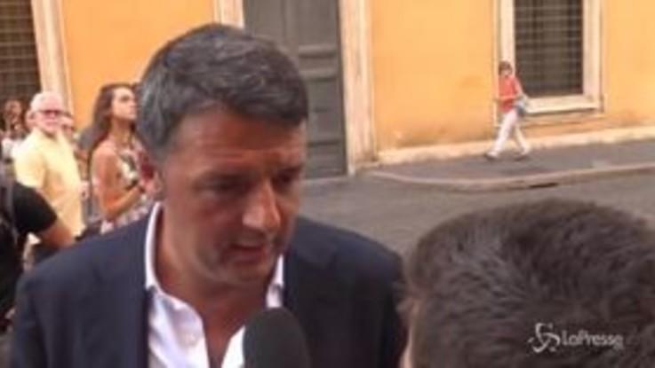 """Governo, Renzi: """"Salvini? Qualcuno della Lega lo tradirà"""""""