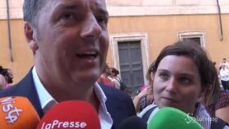 """Governo, Renzi: """"Durerà? Intanto facciamolo partire"""""""