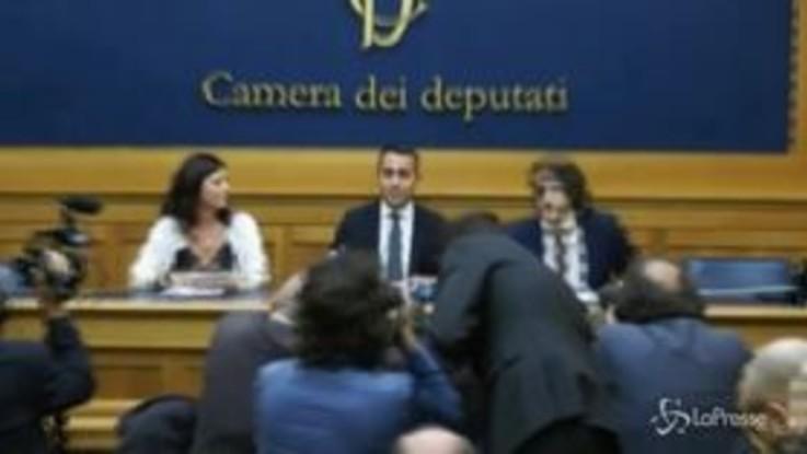 """Governo, Di Maio: """"I 20 punti di cui ho parlato ci saranno tutti"""""""