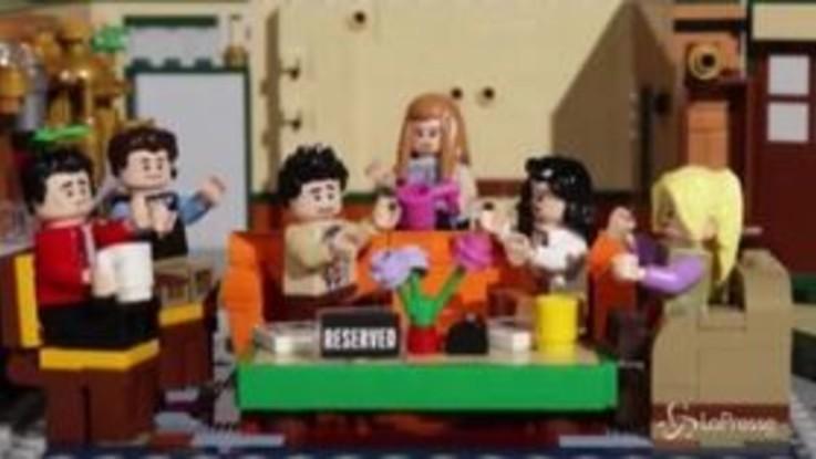 Friends e il mitico bar Central Perk, la Lego festeggia così i 25 anni del telefilm