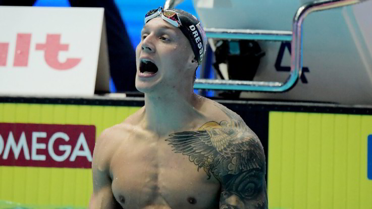 International Swimming League, Caeleb Dressel nuovo ambasciatore