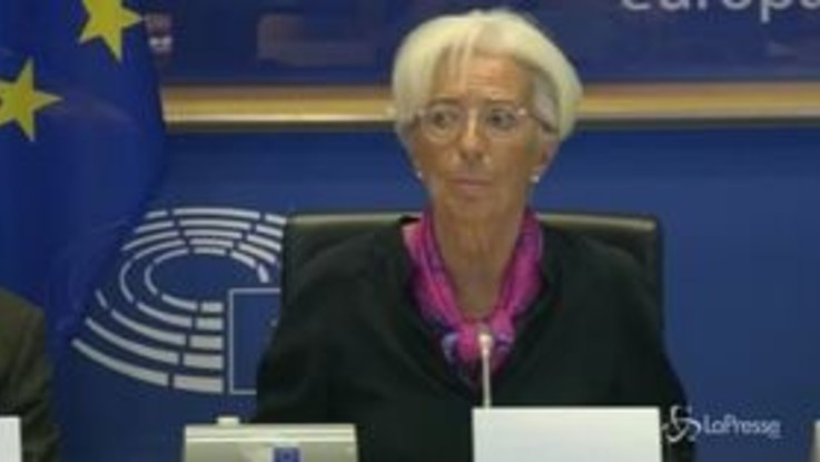 "BCE, Lagarde: ""Nell'Eurozona è necessaria politica accomodante"""